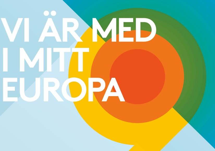 Visa upp ditt EU-finansierade projekt under Mitt Europa2019