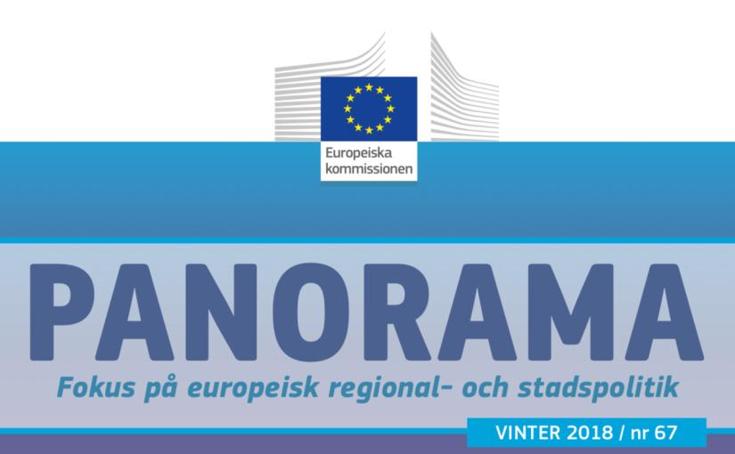 EU-kommissionens magasin om regional- och statspolitik, Panorama, harpublicerats