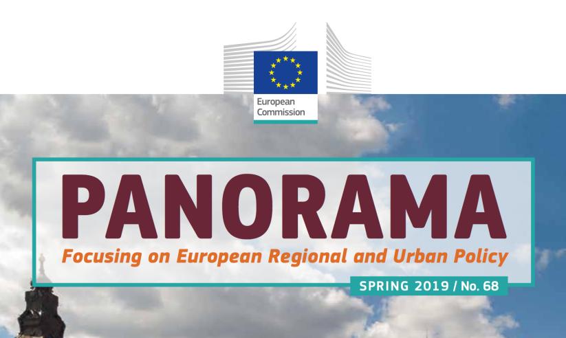 Vårens upplaga av EU-kommissionens magasin om regional- och stadspolitik, Panorama, harpublicerats