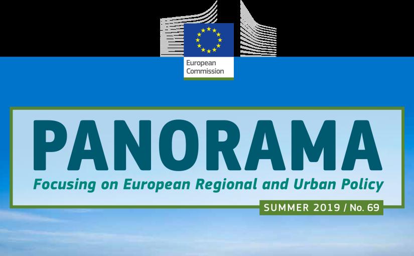 Sommarens upplaga av EU-kommissionens magasin om regional- och stadspolitik, Panorama, harpublicerats