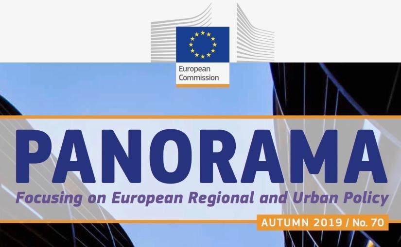 Höstens upplaga av EU-kommissionens magasin om regional- och stadspolitik, Panorama, harpublicerats