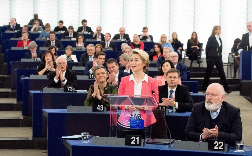 Den nya EU-kommissionen inleder sittarbete