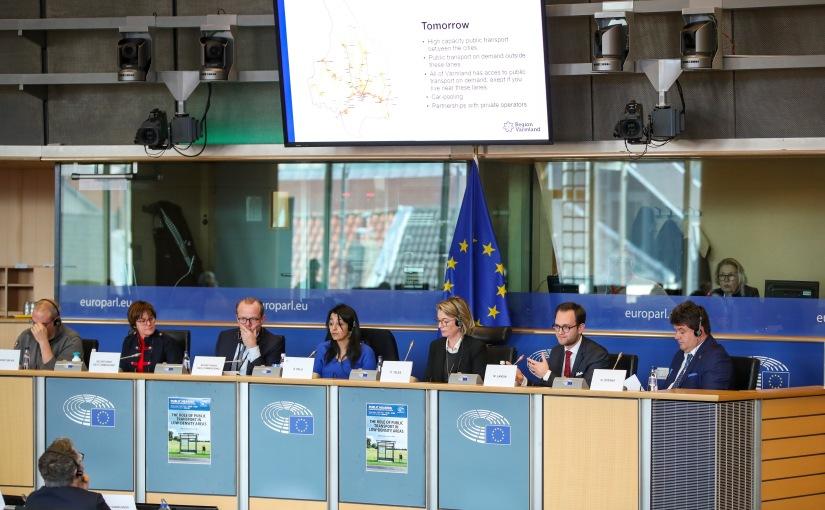Värmlandsbesök i EU-parlamentet