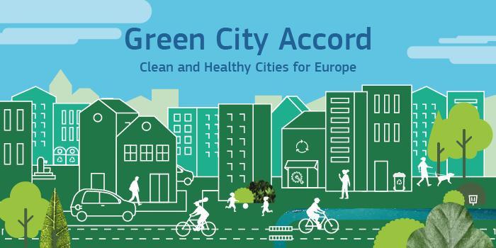 """Totalt 18 städer har skrivit på """"Green City Accord"""" för grönarestäder"""