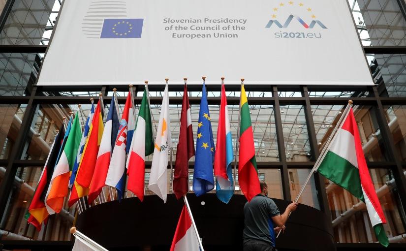 Slovenien ny ordförande iministerrådet